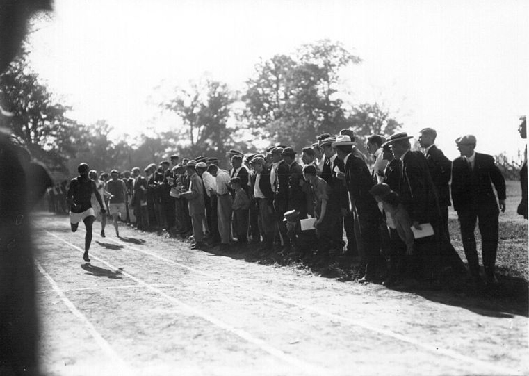 High school track meet, 1912. Source: Wikimedia Commons