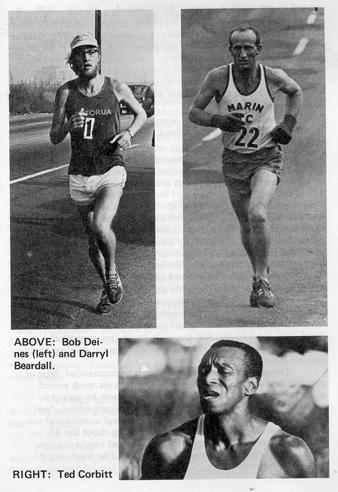 photo of bob deines, darryl beardall, and ted corbitt
